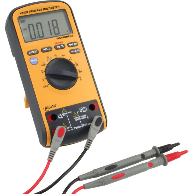 InLine Digital Multimeter With USB