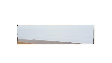 Grindjuostė SG7500 2200 x 75 x 24.5 mm; balta