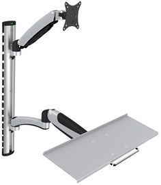 Digitus Flexible Wall Mount 1x LCD + Keyboard Max 27''