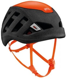 Petzl Helmet Sirocco 48-58cm Black/Orange