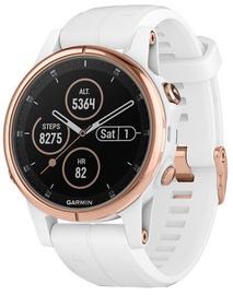 Умные часы Garmin Fenix 5S Plus, золотой/белый/розовый