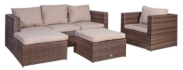 Home4you Kansas Garden Furniture Set Beige