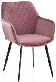 Valgomojo kėdė Homede Vialli Pink, 2 vnt.