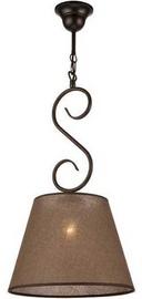 Lamkur Lorenzo 27654 Ceiling Lamp 60W E27 Brown