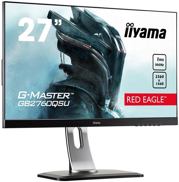 Monitorius Iiyama G-Master Red Eagle GB2760QSU-B1