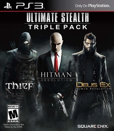 Ultimate Stealth Triple Pack: Thief, Hitman: Absolution and Deus Ex: HR PS3