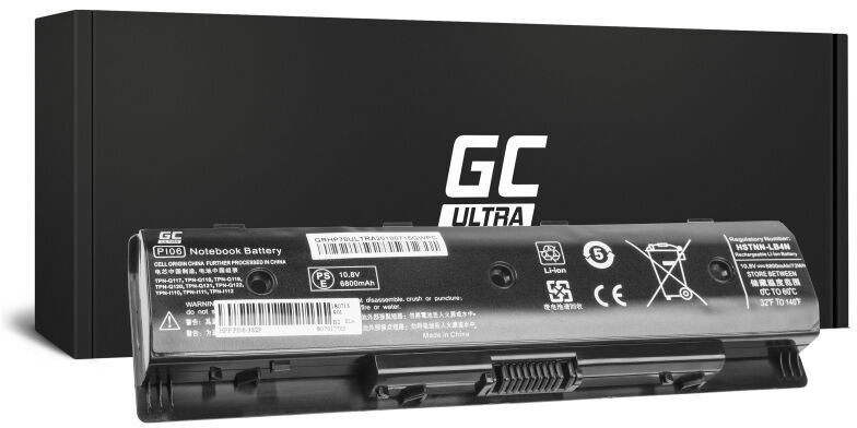 Green Cell Ultra Laptop Battery For HP Pavilion 15 6800mAh