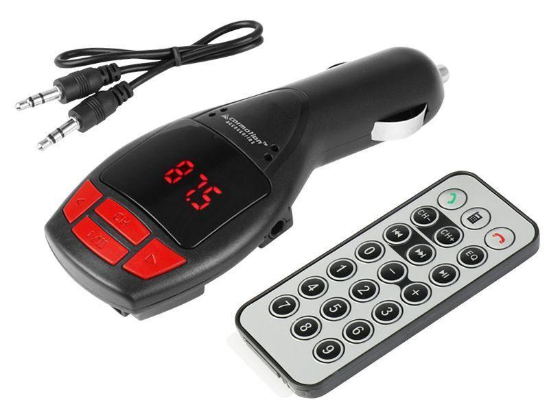 Carmotion FM Bluetooth Transmitter 12/24V