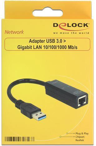 Delock Adapter USB 3.0 to LAN RJ45