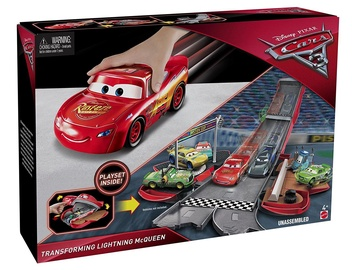 Mattel Cars 3 Transforming Lightning McQueen Playset FCW04