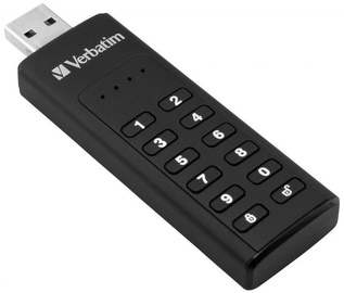 USB zibatmiņa Verbatim Keypad Secure, 128 GB