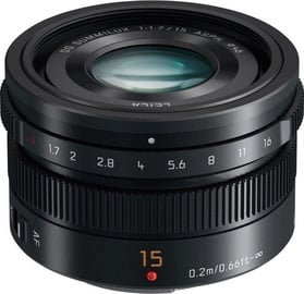 Panasonic Leica DG 15mm f/1.7 Summilux ASPH Black