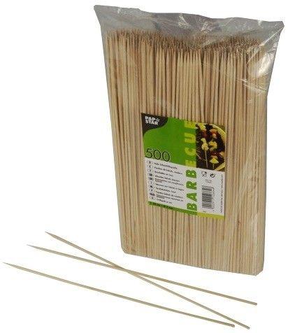 Pap Star Wooden Food Sticks 0.3 x 30cm 500pcs