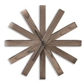 Umbra Ribbon Wood Clock Walnut