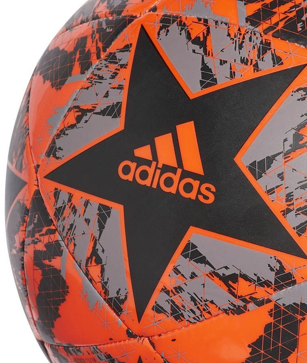 Adidas UCL Finale 19 FC Bayern Capitano Ball DY2543 Black/Orange Size 4