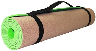 SportVida Eco Exercise Fitness & Yoga Mat Green