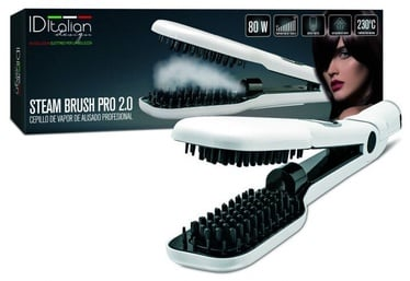 Italian Design Steam Brush Pro 2.0 White