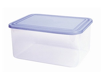 Curver Food Container Rectangle 0,8L Transparent/Blue
