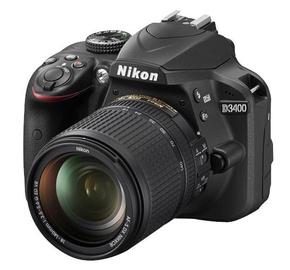 Nikon D3400 + AF-S 18-140 ED VR