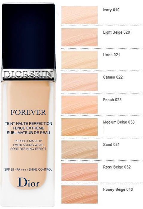 Dior Diorskin Forever Perfecting Fundation SPF35 30ml 022