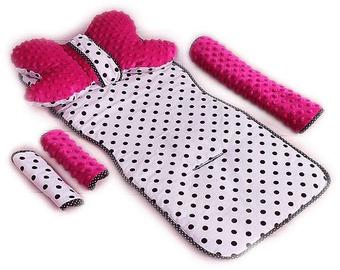 Комплект Babylove 95227, белый/розовый