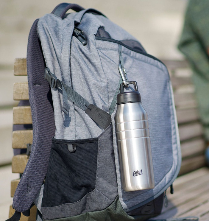 Esbit Majoris Stainless Steel Bottle 1380ml Silver