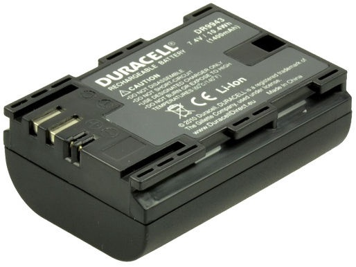 Duracell PremiumBattery For Canon EOS 60D/70D/7D/5D 1400mAh