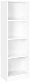 Songmics Bookcase White 121.5x40x24cm