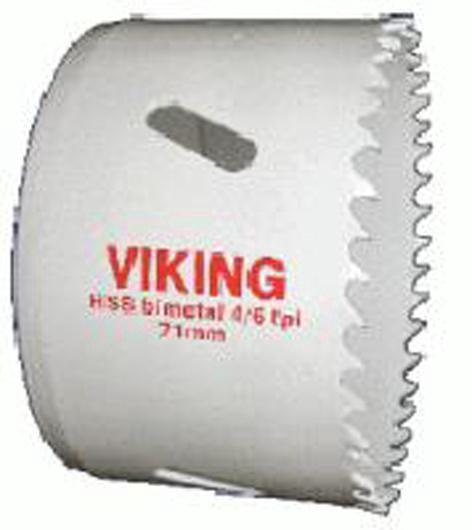 Bimetāla kroņurbis Viking, 73mm