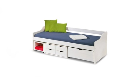 Vaikiška lova Halmar Floro 2 White, 209x96 cm