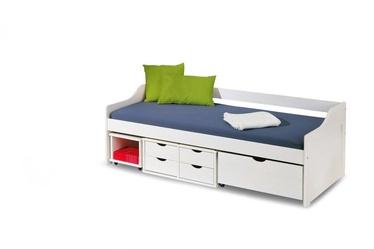 Bērnu gulta Halmar Floro 2 White, 209x96 cm