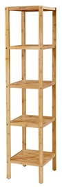Songmics Bamboo Storage Shelf 33x33x146cm