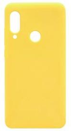 Evelatus Soft Back Case For Xiaomi Redmi 7 Yellow
