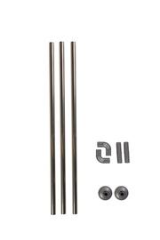Vonios užuolaidų karnizas Futura GRO-004-1, 80 cm