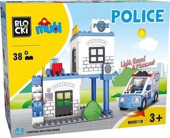 Blocki Mubi Police 38pcs MU6611B