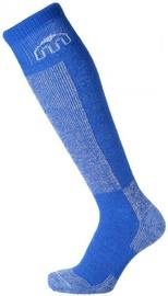 Mico Kids Ski Sock In Polypropylene Blue 30-32