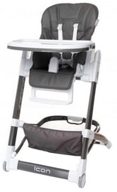 4Baby High Chair Icon Grey