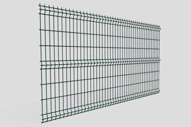Fence panel 3D 3.2 x 1530 x 2500 mm green