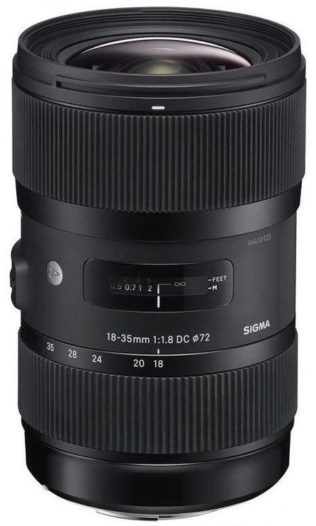 Sigma AF 18-35mm f/1.8 DC HSM for Pentax