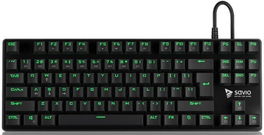 Savio Tempest Mechanical Gaming Keyboard Outemu Brown