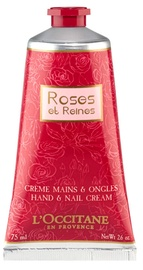 L´Occitane Rose Et Reines Hand & Nail Cream 75ml