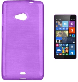 Чехол Forcell Jelly Brush Back Case For Microsoft 535 Lumia Violet