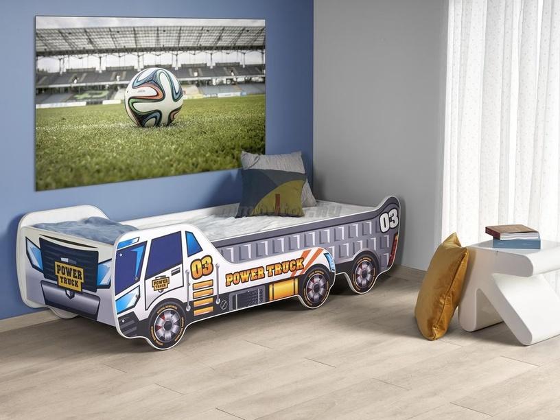 Bērnu gulta Halmar Digger, 154x79 cm