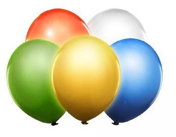 PartyDeco Воздушные шары со светодиодными лампами, 5 шт, ассортимент