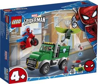 Konstruktorius LEGO Super Heroes Spider Man Vultures Trucker Robbery 76147