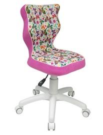 Bērnu krēsls Entelo ST31 Butterfly Pink/White