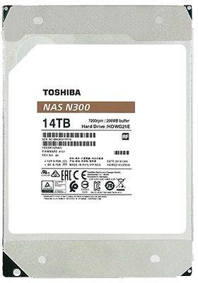 Toshiba N300 12TB 7200RPM SATAIII 128MB Series HDWG21CEZSTA