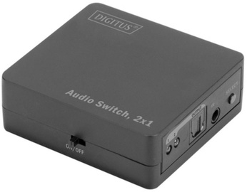 Digitus Audio Switch 2 x Toslink to 1 x Toslink w/ Remote Control