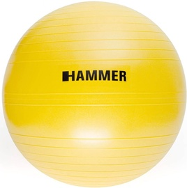 Hammer Anti-Burst Gymnastic Ball 55cm Yellow