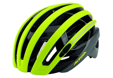 Alpina Campiglio Be Visible Helmet 55-59 Yellow